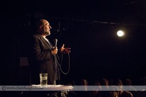 Omid Djalili headlined the Red Imp's inaugural comedy night in January 2014